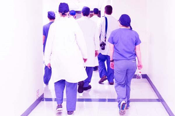 Healthy staff