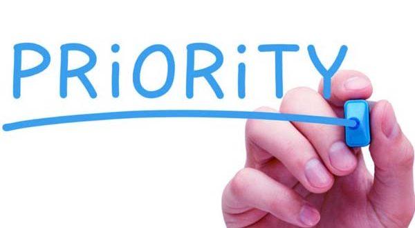 Your Priority Needs