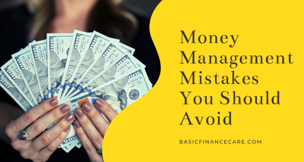 Money Management Mistakes